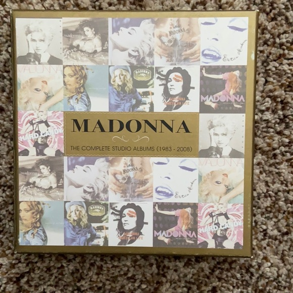 Madonna the complete albums 1983-2008 (new)
